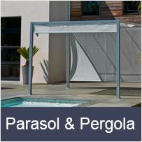 Parasol et Pergola